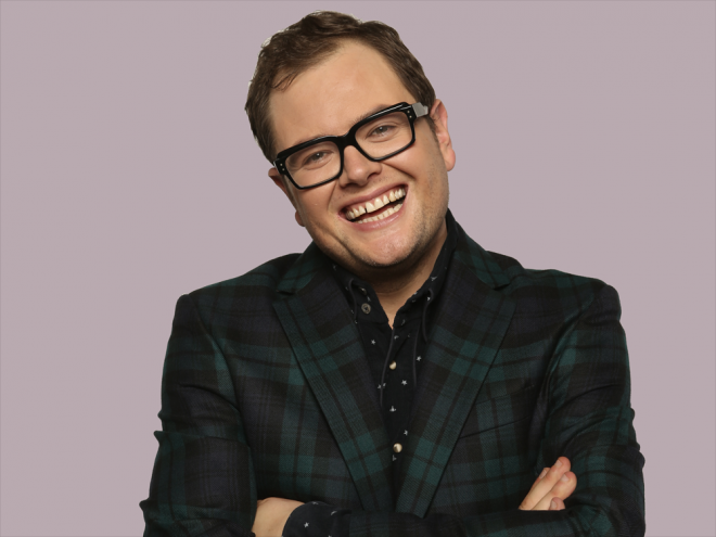 who is alan carr dating