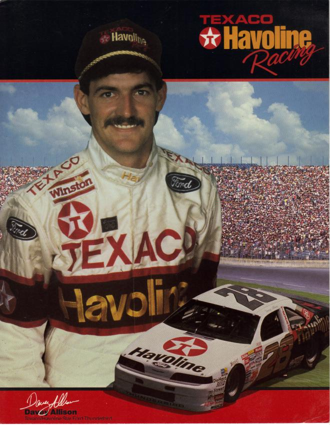 Davey Allison Net Worth 2018: Wiki-Bio, Married, Dating