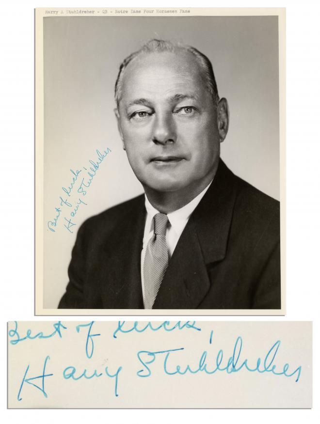Harry Stuhldreher Net Worth